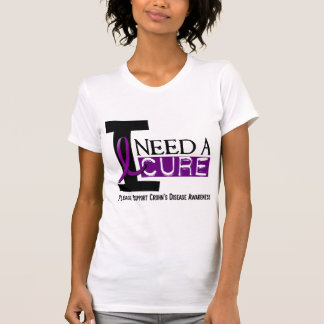 I NEED A CURE 1 CROHN'S DISEASE T-Shirts
