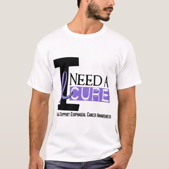 I NEED A CURE 1 ESOPHAGEAL CANCER T-Shirts