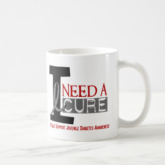 I NEED A CURE 1 JUVENILE DIABETES T-Shirts Coffee Mug