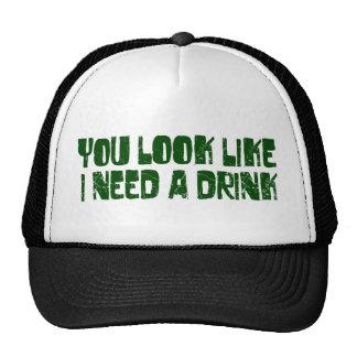 I Need A Drink Cap