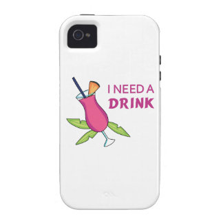 I Need A Drink iPhone 4/4S Covers