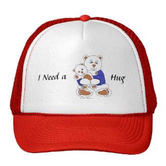 I Need a Hug Trucker Hats