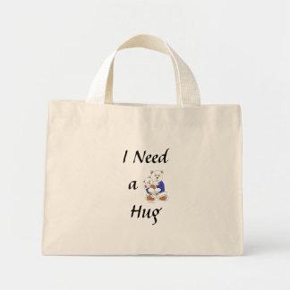 I Need a Hug Mini Tote Bag