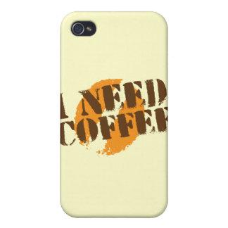 I NEED COFFEE! iPhone 4 COVERS