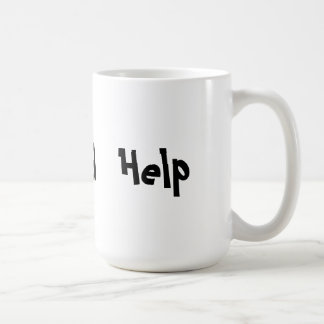 I Need Help Basic White Mug