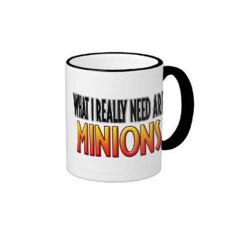 I Need Minions Mug