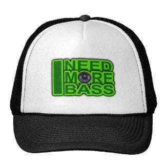I NEED MORE BASS green -Dubstep-DnB-Hip Hop-Crunk Cap