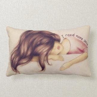 I need more sleep lumbar cushion