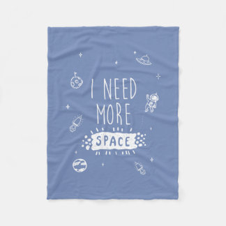 I need more space blanket blue