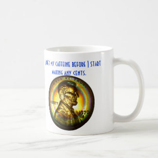 """I need my caffeine ..."" Mug #2"