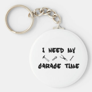 I need my garage time basic round button key ring