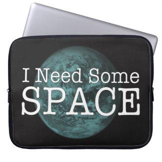 I Need Some Space Neoprene Laptop Sleeve