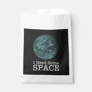 I Need Some Space Party Favor Bags