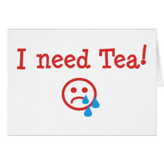 I need Tea! - to recover from ObamaCare Cards