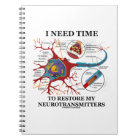 I Need Time To Restore My Neurotransmitters Notebook