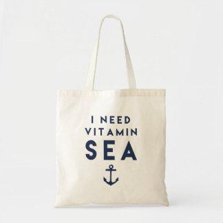 I Need Vitamin Sea Navy Anchor Quote
