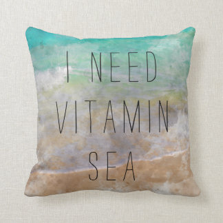 I need Vitamin Sea Pillow