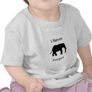 I never forget tee shirt