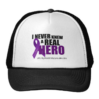 I NEVER KNEW A REAL HERO Bestfriend Trucker Hats