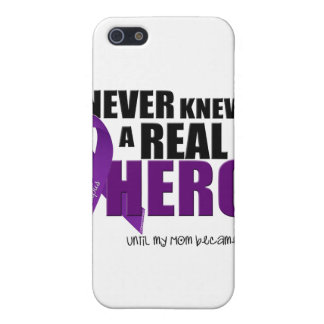I NEVER KNEW A REAL HERO.... Mom iPhone 5 Case