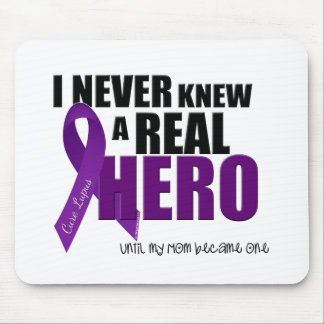 I NEVER KNEW A REAL HERO Mom Mouse Pads