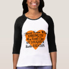 I Never Knew What Strength...Daughter...RSD/CRPS T-Shirt
