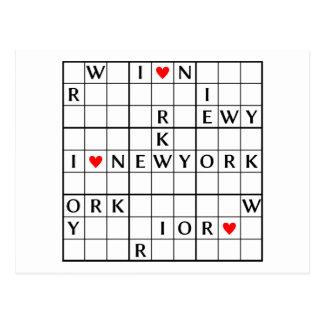 I♥NEWYORK POSTCARD