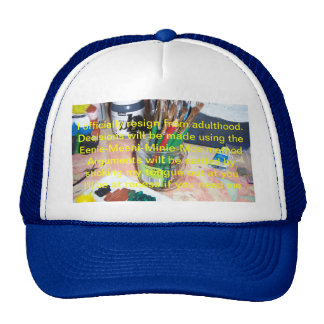 I Officially Resign From Adulthood Mesh Hat