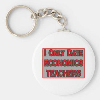 I Only Date Economics Teachers Keychains