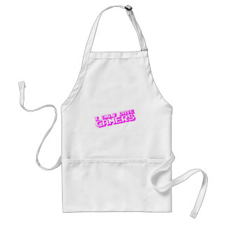 I Only Date Gamers - Video Games Dating Gaming Aprons