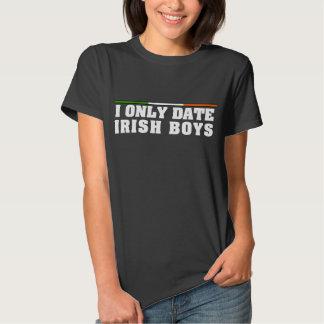 I Only Date Irish Boys Tshirts