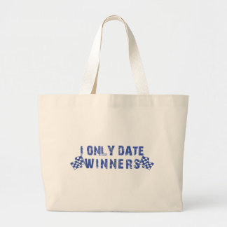 I Only Date Winners Canvas Bags