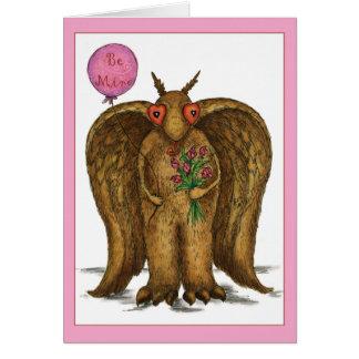 I Only Have Eyes For You Mothman Valentine Card