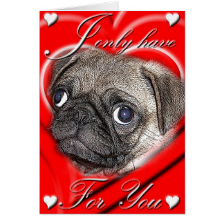 I Only Have Eyes For You Valentine Card