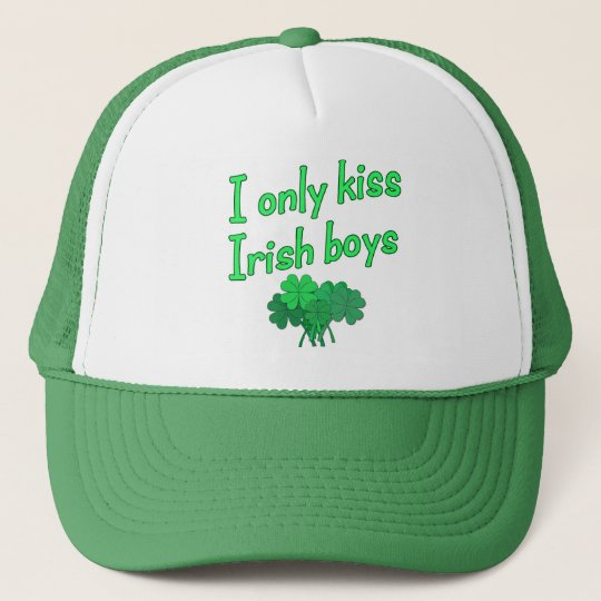 I Only Kiss Irish Boys Cap
