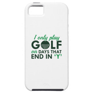 I Only Play Golf iPhone 5 Covers