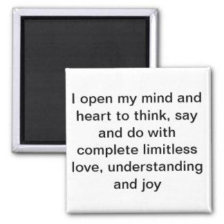 I open my mind - magnet