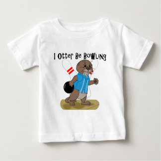 I Otter Be Bowling Baby T-Shirt