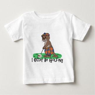 I Otter Be Golfing T Shirt