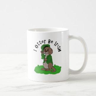 I Otter Be Irish Coffee Mug