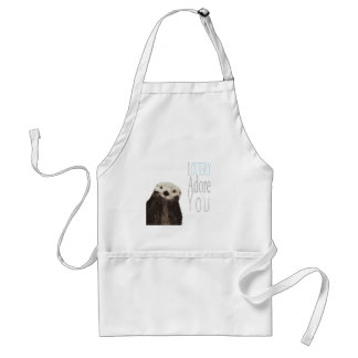 I otterly adore you standard apron