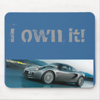 I Own it Lotus Mouse Mat