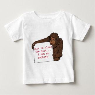I Own No Monkeys Infant T-Shirt