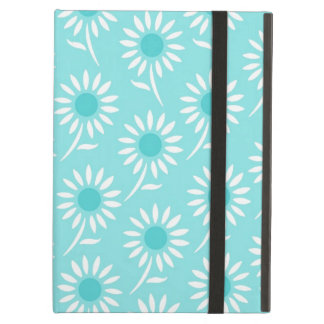 i Pad Aqua White Pattern Case For iPad Air