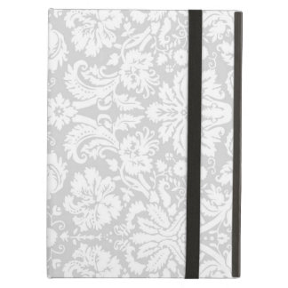 i Pad Gray Damask Pattern iPad Air Case