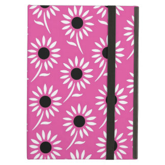 i Pad Pink Black White Pattern iPad Air Covers