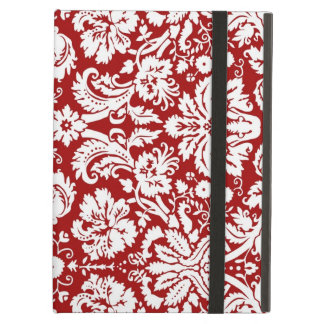 i Pad Red Damask Pattern iPad Air Cover