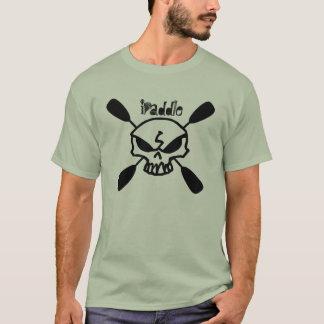 I Paddle Kayak Skull T-Shirt