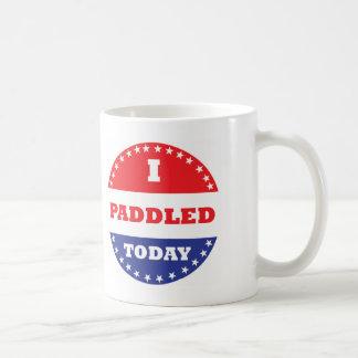 I Paddled Today Coffee Mug