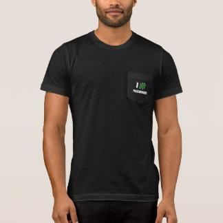 I # PASSWORDS (2 Line) - Men's Pocketed T-Shirts